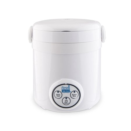 Aroma MRC903D Housewares Mi 3-Cup (Cooked) (1.5-Cup UNCOOKED) Digital Cool Touch Mini Rice