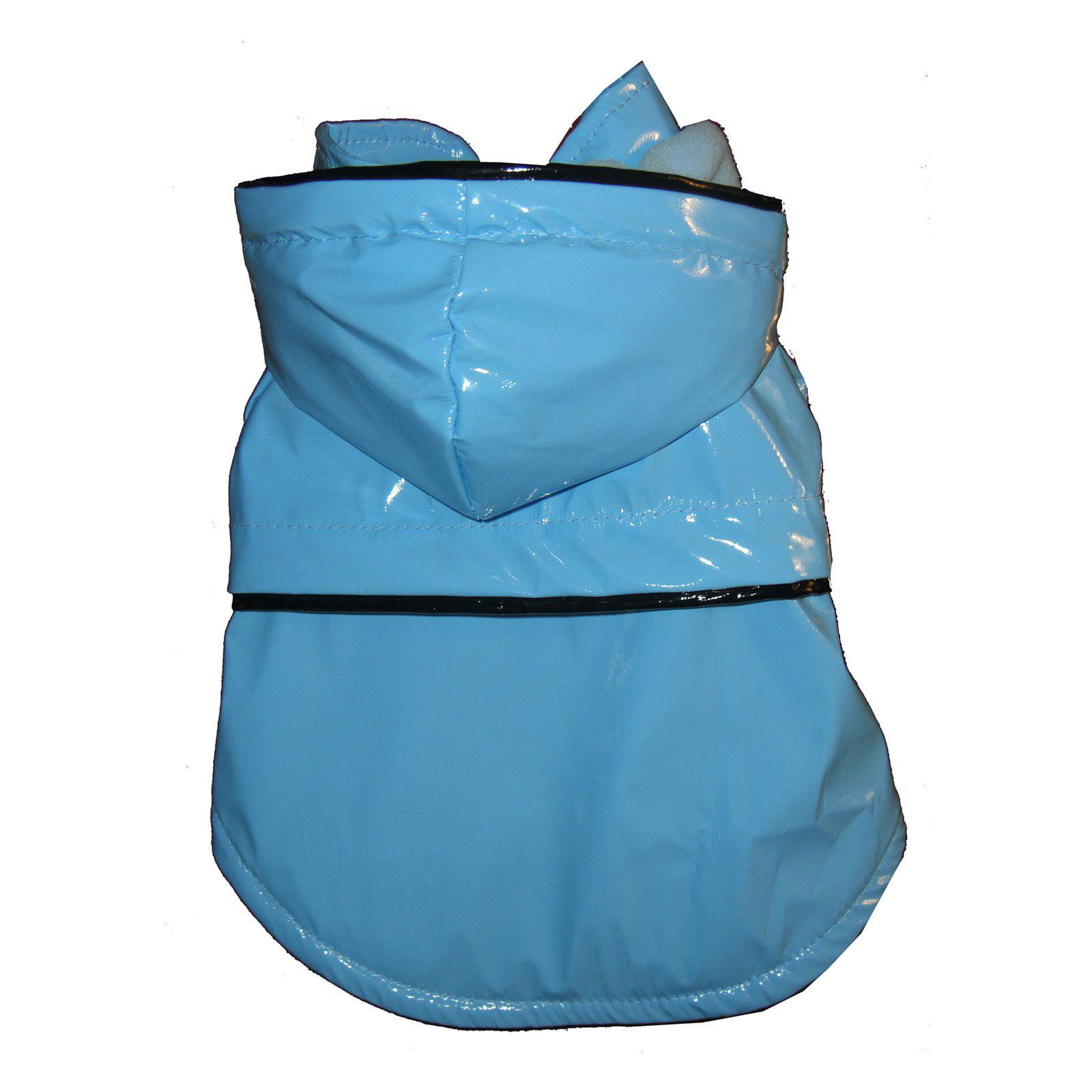 Pet Life Fashion Raincoat - Light Blue