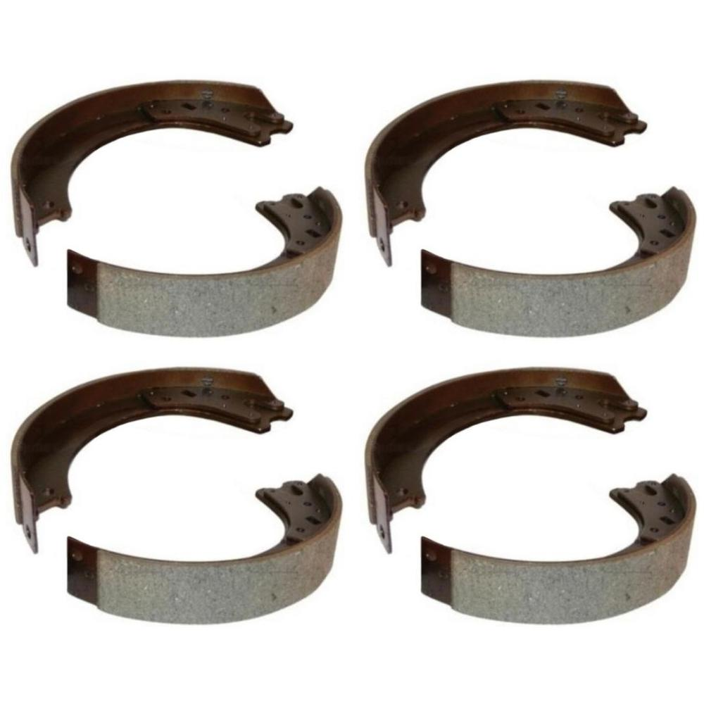 Set of 4 Brake Shoes 8N2200B for Ford//New Holland Tractors 8N NAA Jubilee