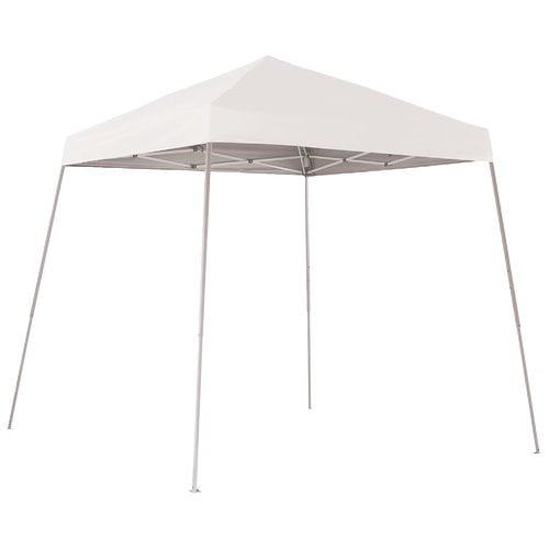 8' x 8' Sport Pop-up Canopy Slant Leg White Cover