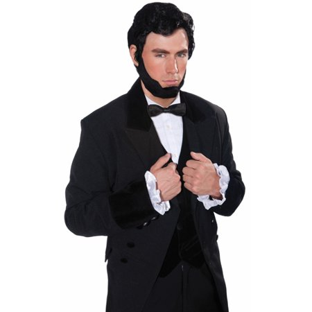 Lincoln Wig and Beard Set Adult Halloween Accessory - Halloween Parties In Lincoln Park Chicago