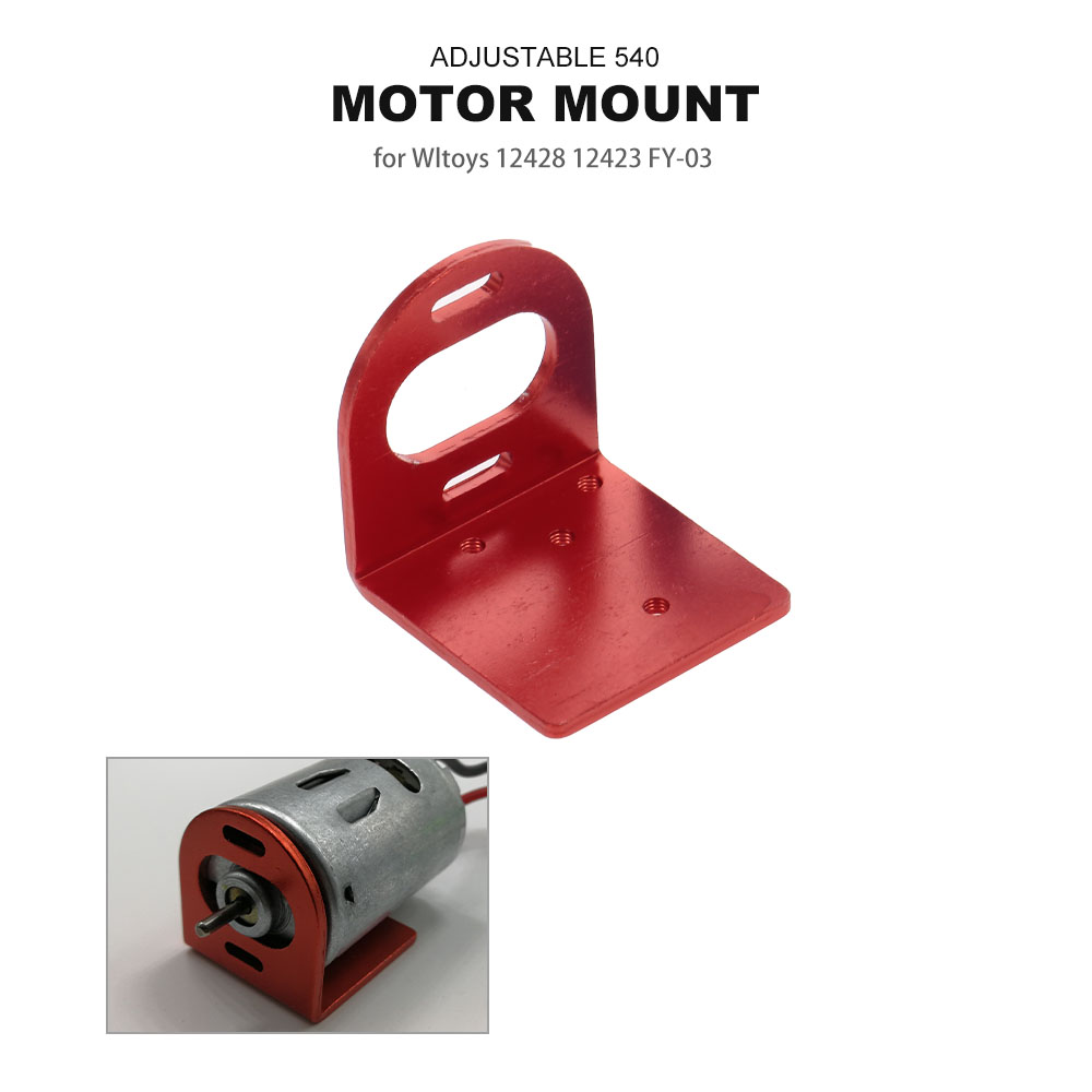 540 Motor Mount Metal for Car Wltoys RC 12428 FY-03 Upgraded Parts Accessories