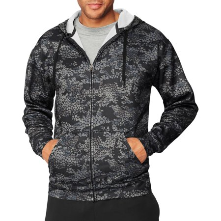 - Sport Big Men's Performance Fleece Full-Zip Hoodie