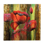 Entrada Peonies Flower Painting on Canvas