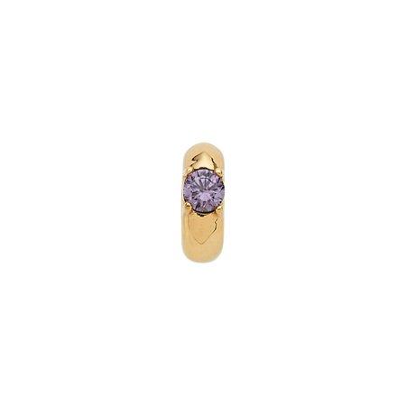 "14K Yellow Gold February Birth of a Childâ""¢ Miniature Birthstone Ring Pendant"