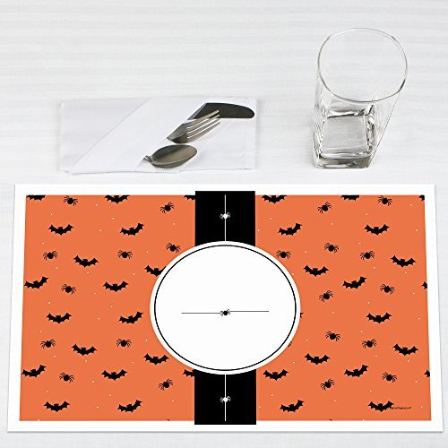 Click here to buy Bewitching Bash Halloween Party Placemats Set of 12 by Big Dot of Happiness, LLC.