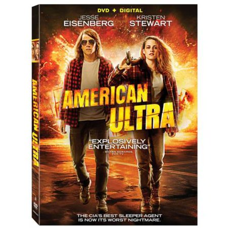 American Ultra  Dvd   Digital Copy   With Instawatch