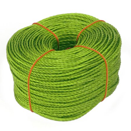 200M 656Ft Long Green PE Polyethylene Wear-Resisting Twist Tie Rope String