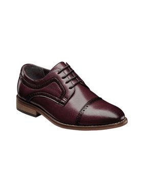 Boys' Stacy Adams Dickinson Perforated Cap Toe Oxford