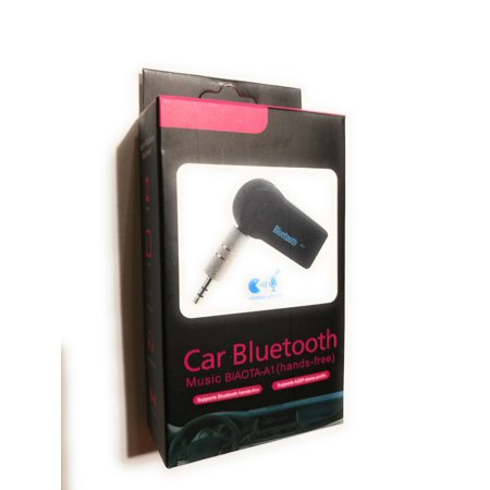 Wireless bluetoo th 3 5mm AUX Audio Stereo Music Home Car Receiver Adapter  Mic