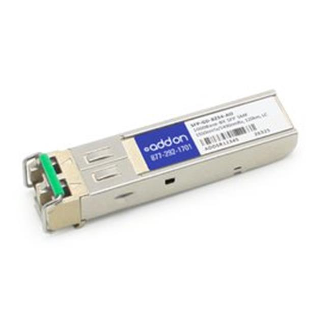 Add-On SFP-GD-BZ54-AO MRV Compatible TAA Complaint 1000Base-BX SFP Transceiver - 1550 nmTx & 1490 nmRx - image 1 of 1