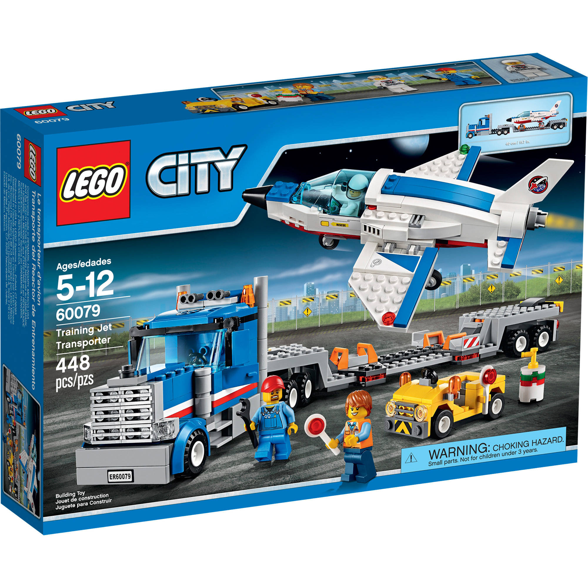 Lego City Space Port Training Jet Transporter, 60079 by LEGO Systems, Inc.