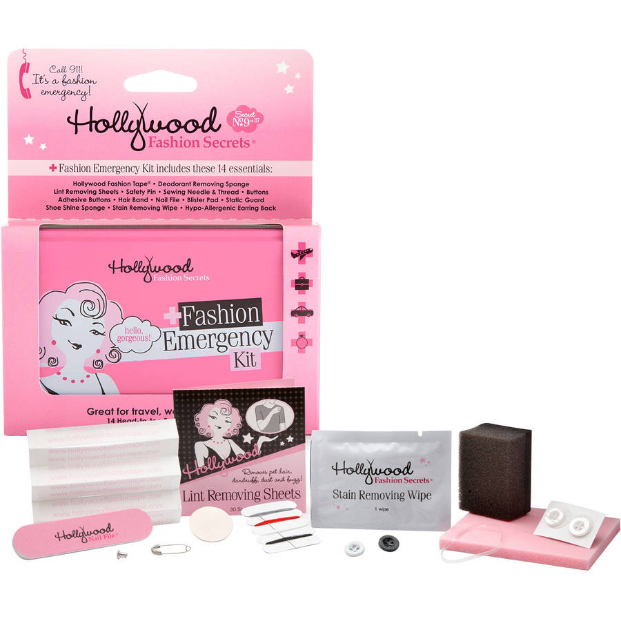 Hollywood Fashion Secrets Fashion Emergency Kit, 14 pc