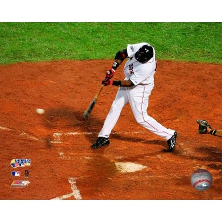 David Ortiz Game One of the 2007 Major League Baseball World Series Photo Print