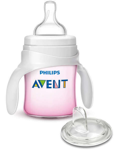Philips Avent My First Transition Cup Soft Spout Trainer Sippy Cup by Philips AVENT