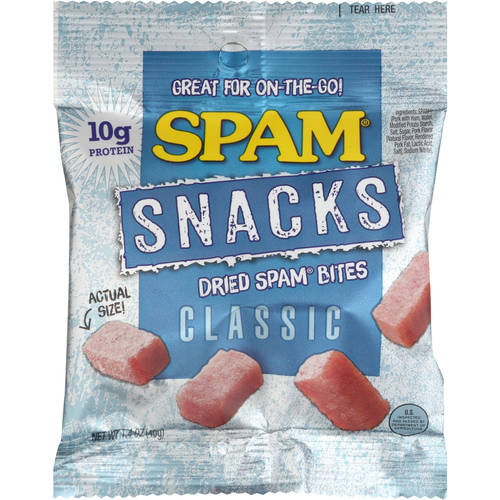 Spam Snacks Classic Dried Spam Bites, 1.4 oz