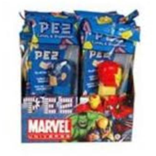 PEZ Marvel Comics Assorted, 12 ea (Pack of 2)