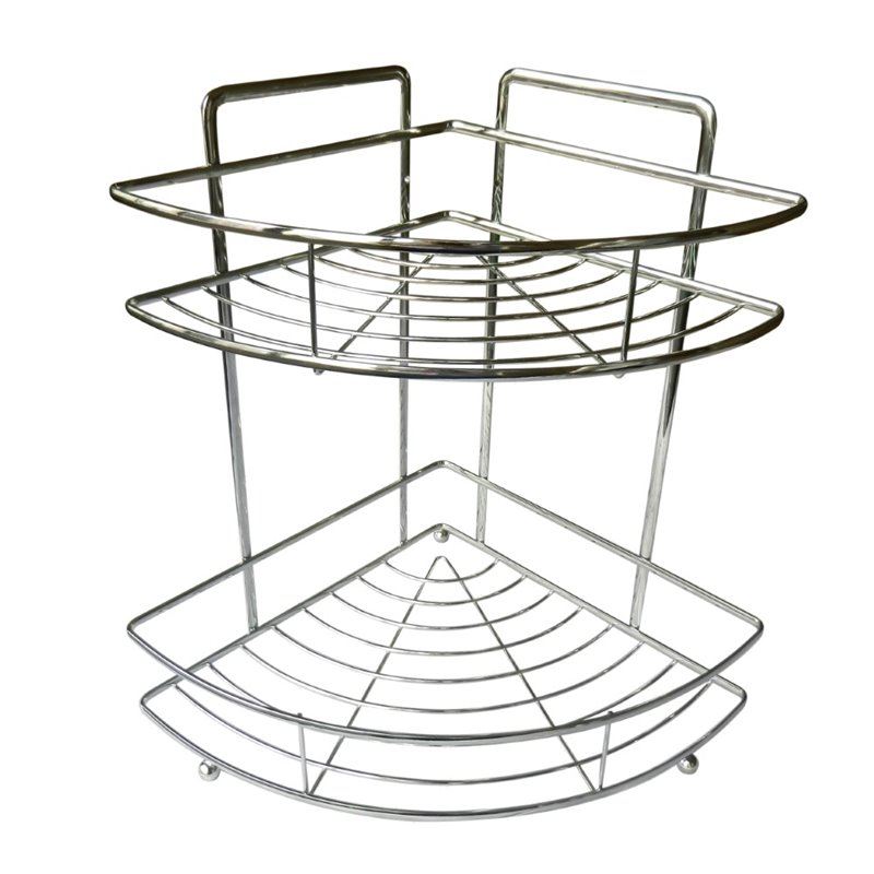 Elegant Home Fashions Shower Caddy in Chrome by Elegant Home Fashions