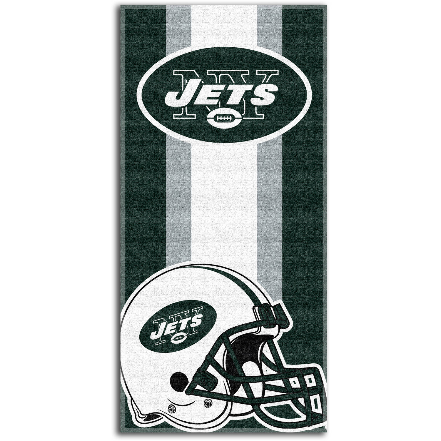 "NFL New York Jets ""Zone Read"" 30"" x 60"" Beach Towel"