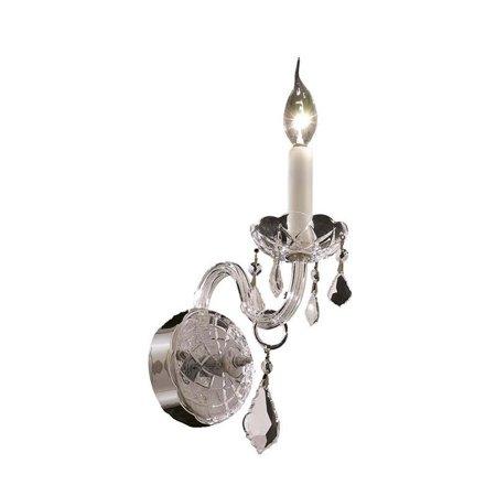 "Elegant Lighting Alexandria 4"" Elements Crystal Chrome Wall Sconce"