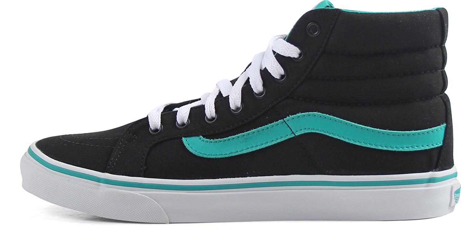 9948d26ffb Vans - Vans Unisex Sk8-Hi Slim (POP) Skate Shoes-Columbia Black -  Walmart.com