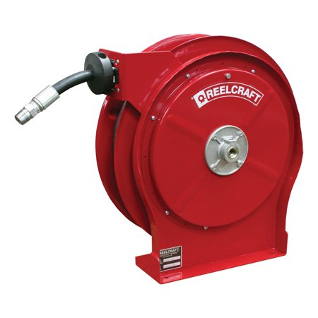 Reelcraft Premium Duty Compact Oil 1 2 In  Hose Reel    35 Ft