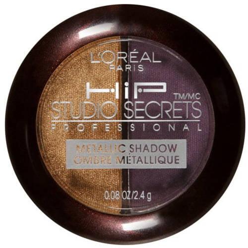 L'Oreal Paris Studio Secrets Professional Metallic Shadow Duo, Ignited 520