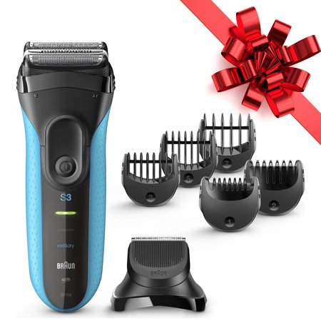 Braun Series 3 Shave & Style 3010BT ($5 Rebate Eligible) 3-in-1 Electric Wet & Dry Shaver / Razor for Men with Precision Beard Trimmer
