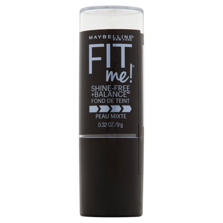 Maybelline Fit Me Shine Free   Balance Stick Foundation  0 32 Oz