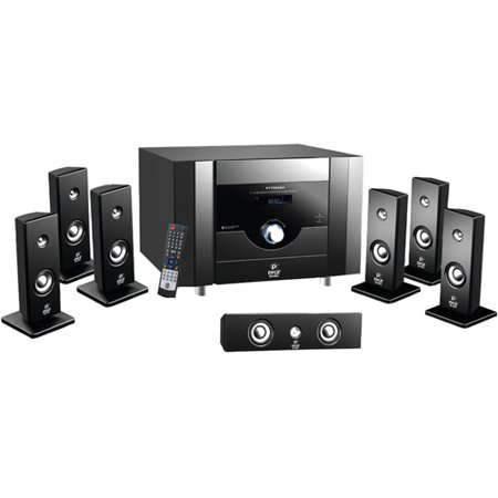 Pyle PT798SBA 7.1-Channel Home Theater System with Bluetooth