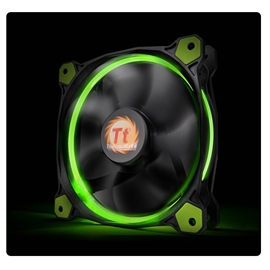 Thermaltake Riing 14 High Static Pressure LED Radiator Fan - Red