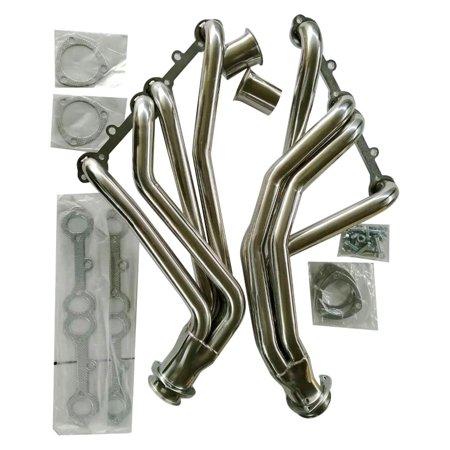 (Ktaxon Stainless Steel Headers For Chevy Short Block SB V8 262 265 283 305 327 350 400)