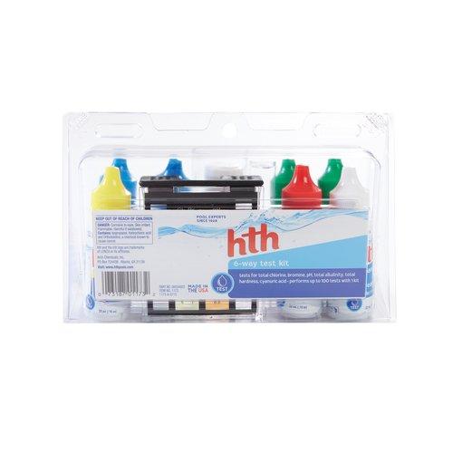 hth Swimming Pool 6-Way Test Kit