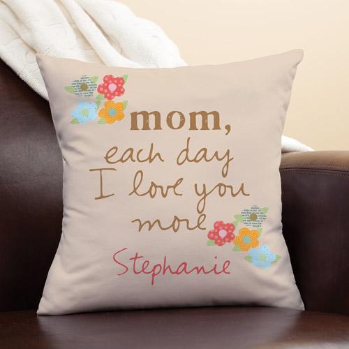 Personalized Sandra Magsamen Pillow For Mom