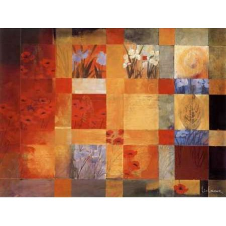 42 Views of My Garden Poster Print by Don Li-Leger