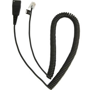 QUICK DISCONNECT TO RJ-9 COILED CORD FOR CISCO 794X/796X/797X