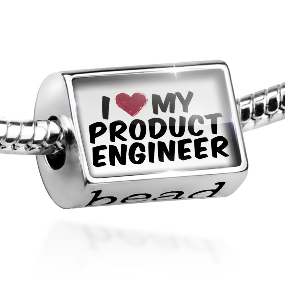 Bead I heart love my Product Engineer Charm Fits All European Bracelets