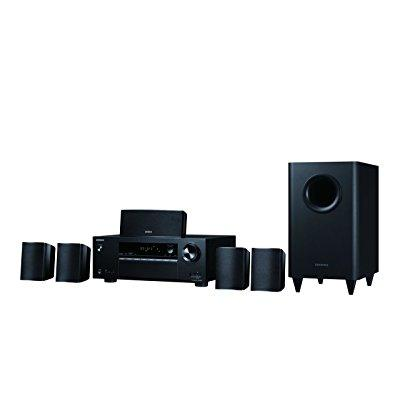 Onkyo HT-S3800 Immersive 5.1-Channel Surround Sound Speaker System, Black by Onkyo