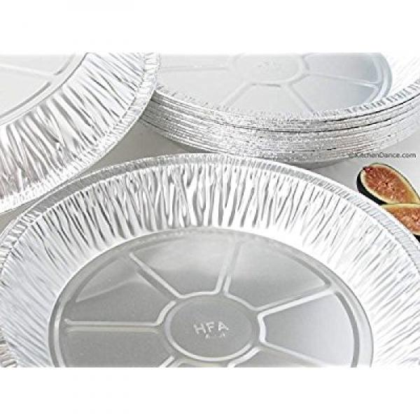 11 Extra Deep Disposable reusable Pie Pan #2411 (50) by SpecPage