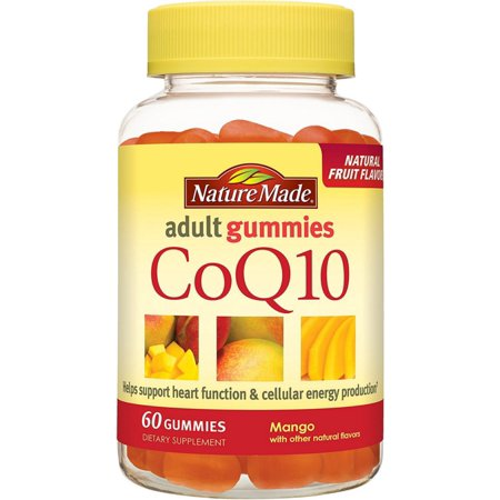 Nature Made CoQ10 Gummies adultas, Mango 60 ea