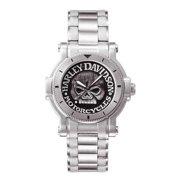 Men's Bulova Willie G Skull Wrist Watch 76A11, Harley Davidson