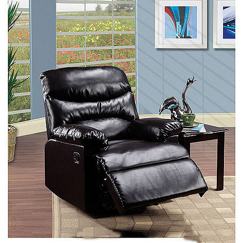 arcadia bonded leather recliner multiple colors