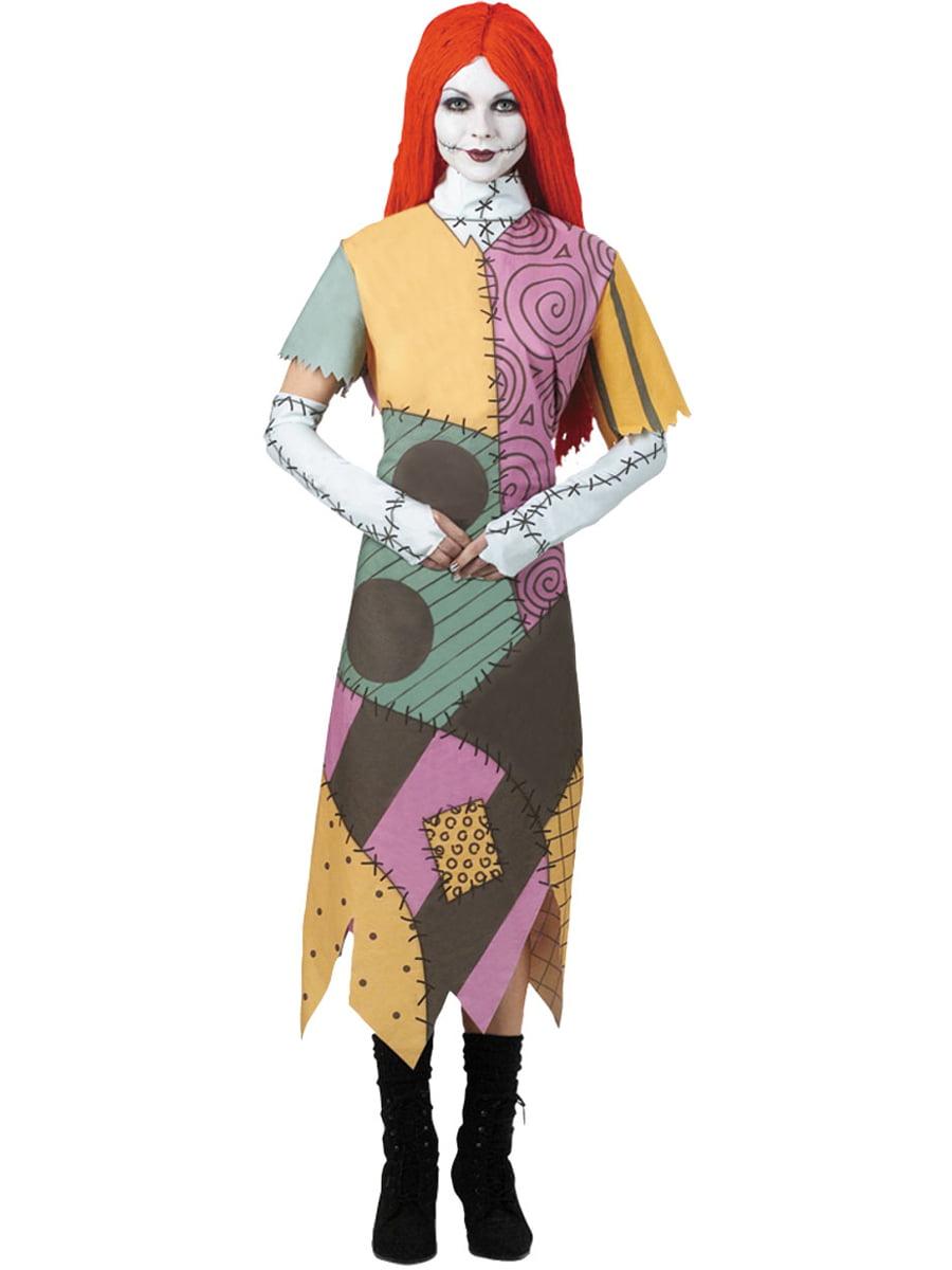 Girls Deluxe The Nightmare Before Christmas Sally Dress Costume