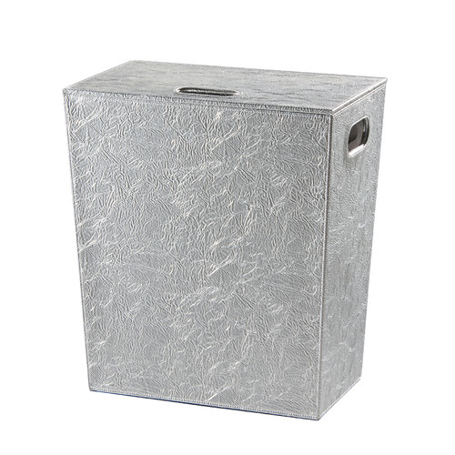 WS Bath Collections Complements Perle Laundry Hamper