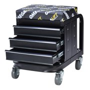 Omega Lift 92450 - 450 Lbs Mechanic'S Toolbox Seat