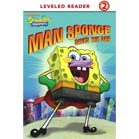 Man Sponge Saves the Day (SpongeBob SquarePants) - eBook](Valentine's Day Spongebob)