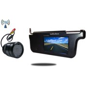Tadibrothers 7 Inch Visor Monitor and a Wireless 150 Degree Bumper Backup Camera (RV or Car Backup System)