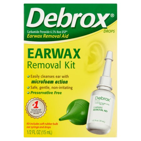 Debrox cérumen Retrait Kit