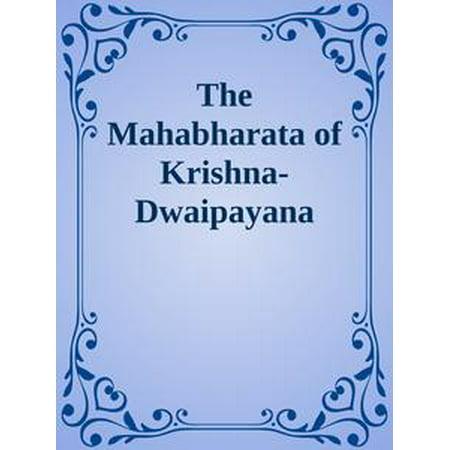 The Mahabharata of Krishna-Dwaipayana Vyasa Translated into English Prose / Adi Parva -