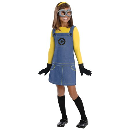 Female Minion Child Costume - Toddler](Minions Dress)